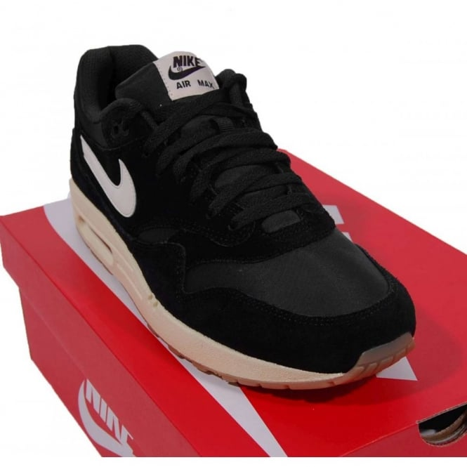 Nike Footwear Air Max 1 Essential Trainers Black Sail