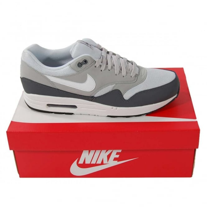 Nike Air Max 1 Essential Dark Grey White Mens Clothing
