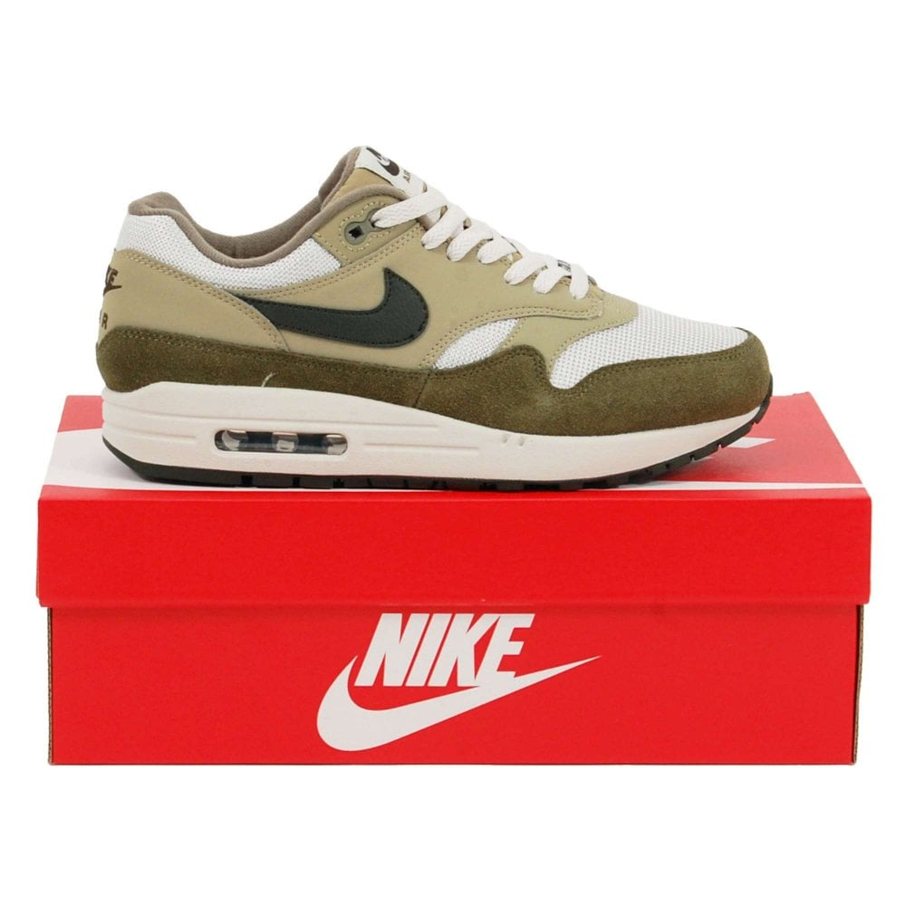 detailed look a201b 317b4 Air Max 1 Medium Olive Sequoia Neutral Olive