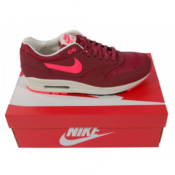 Nike Air Max 1 Premium Team Red Atomic Red - Mens Clothing from ... 2b0f8711a