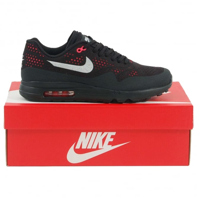 Nike Air Max 1 Ultra 2.0 Moire Black Wolf Grey Solar Red