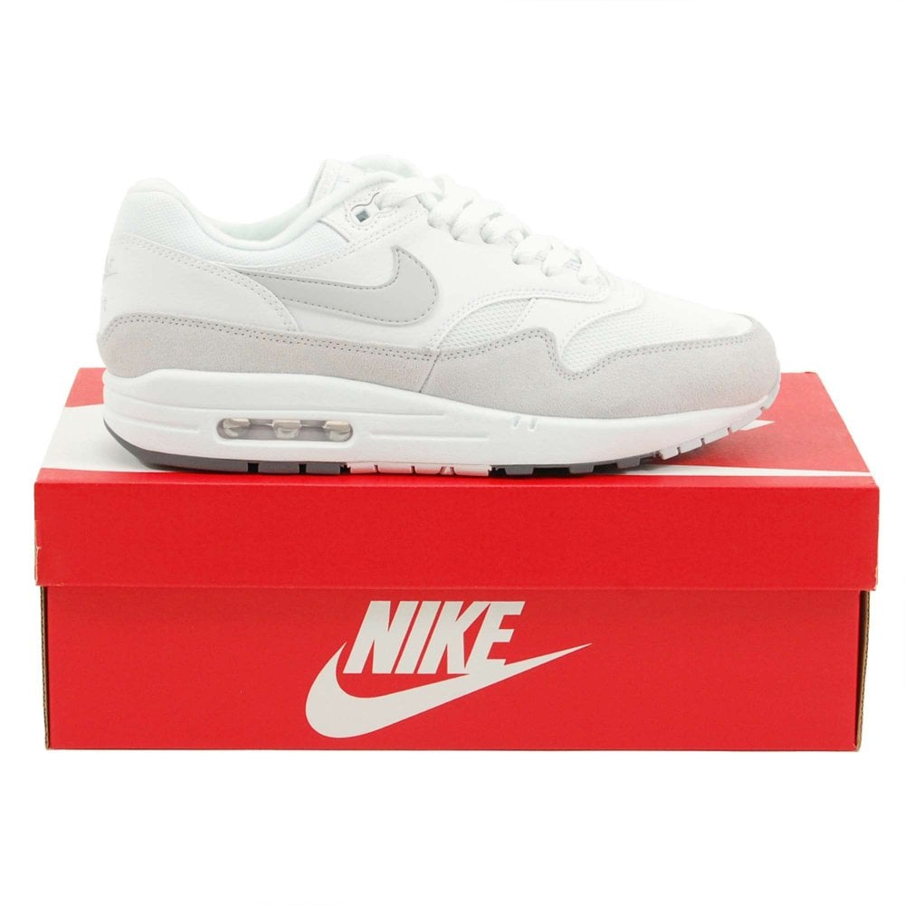 best sneakers b5c82 13fd6 Air Max 1 White Pure Platinum Cool Grey
