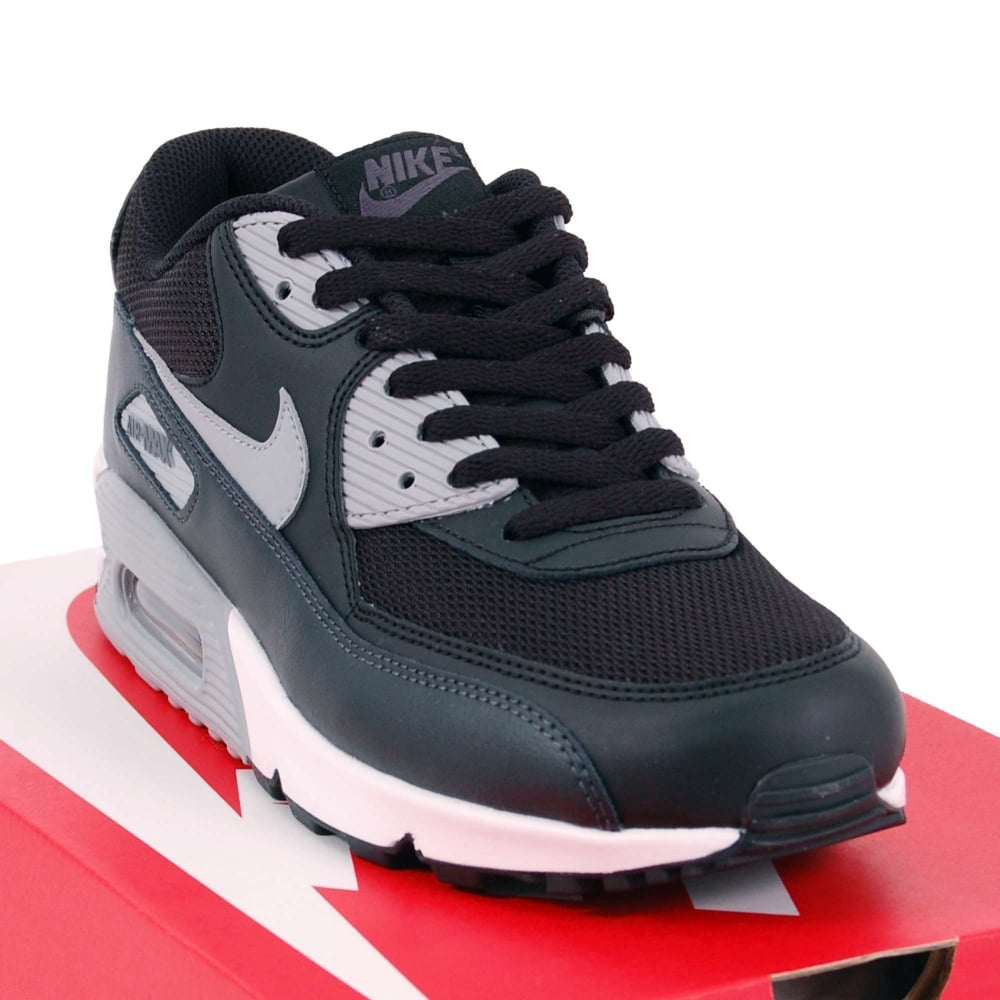 sale retailer 84566 5556b discount air max 90 essential black wolf grey anthracite 89384 dde11