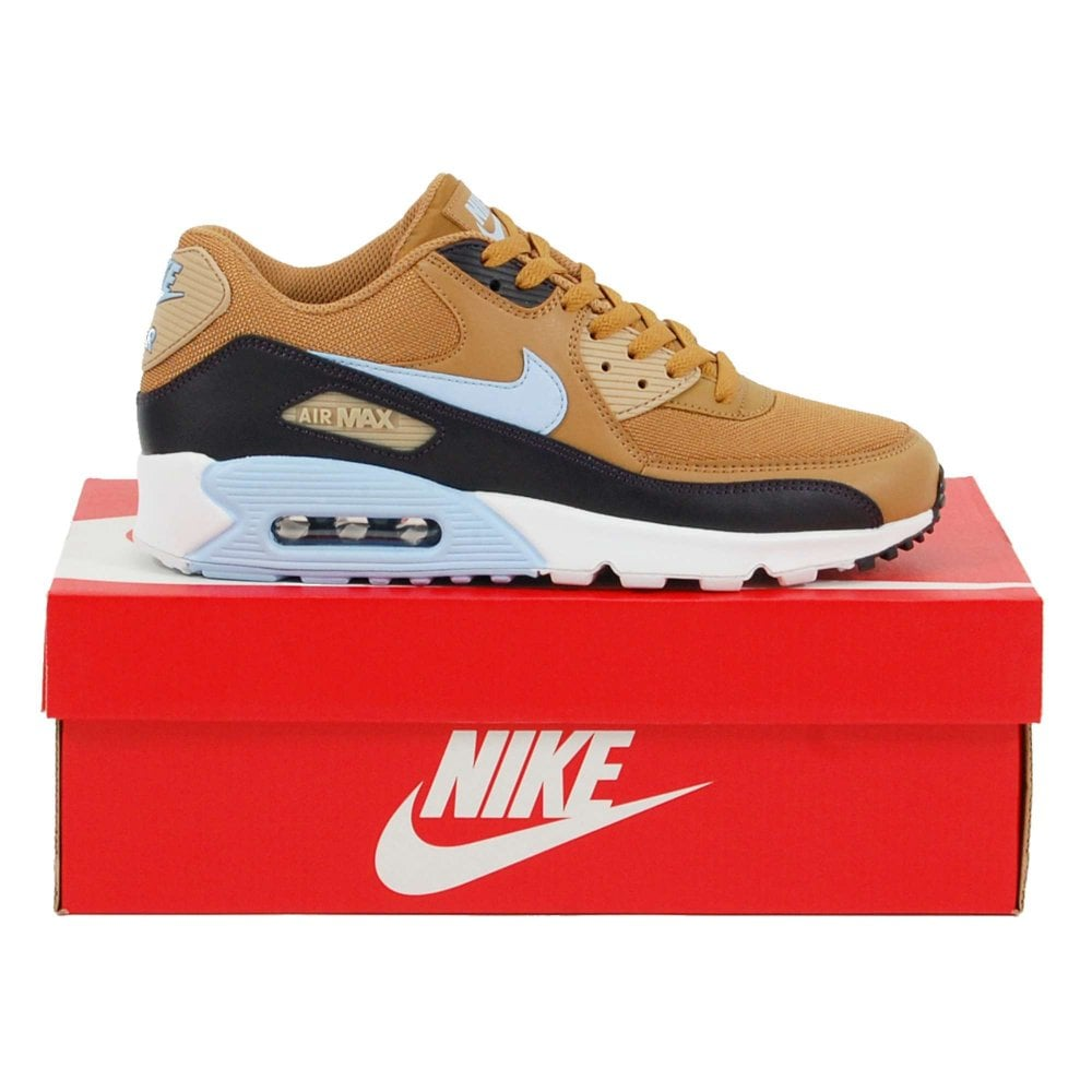 Nike Air Max 90 Essential Muted Bronze Royal Tint Burgundy Ash ... f6f496e68