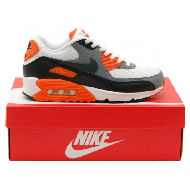 Nike Air Max 90 Orange White Grey Black | SneakerFiles