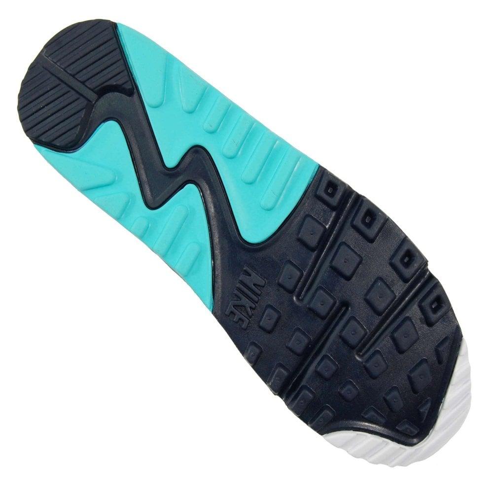 4791fa28383a Nike Air Max 90 Essential White Aurora Green Obsidian - Mens ...