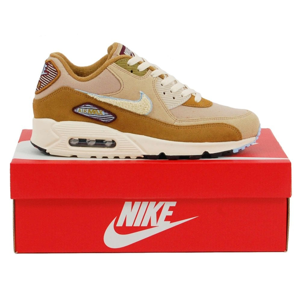 eaae7f07a17e Nike Air Max 90 Premium SE Muted Bronze Royal Tint Desert Light Cream - Mens  Clothing from Attic Clothing UK