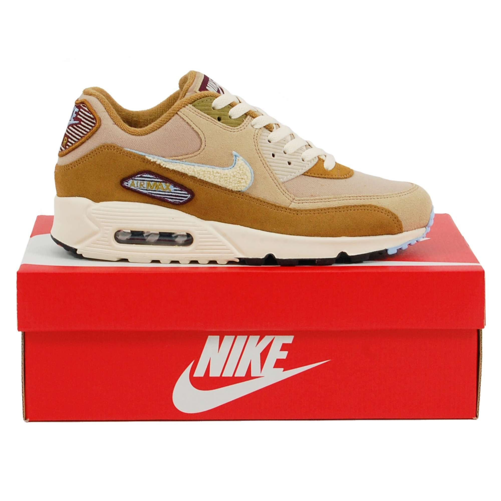 Nike Air Max 90 Premium SE Muted Bronze Royal Tint Desert Light Cream
