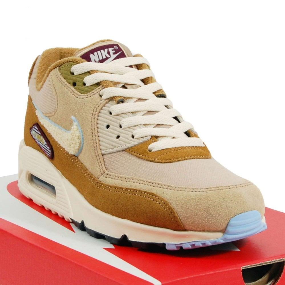 Nike Air Max 90 Premium SE Muted Bronze Royal Tint Desert Light Cream