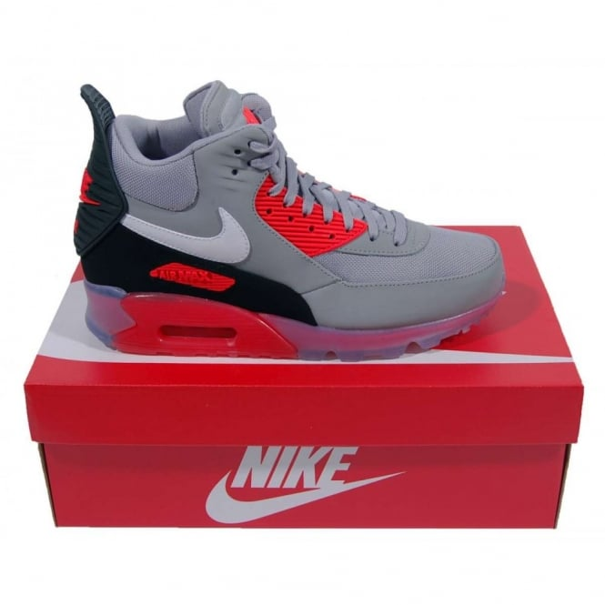 timeless design a8bf2 6d624 Air Max 90 Sneakerboot Ice Wolf Grey Infrared