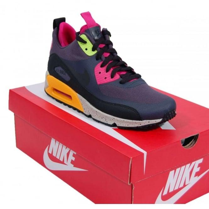Nike Air Max 90 Sneakerboot NS Gridiron Black