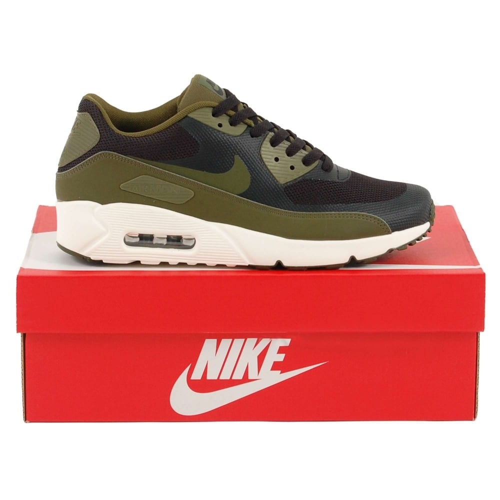 sale retailer bcf43 51ec3 Air Max 90 Ultra 2.0 Black Legion Green Sail