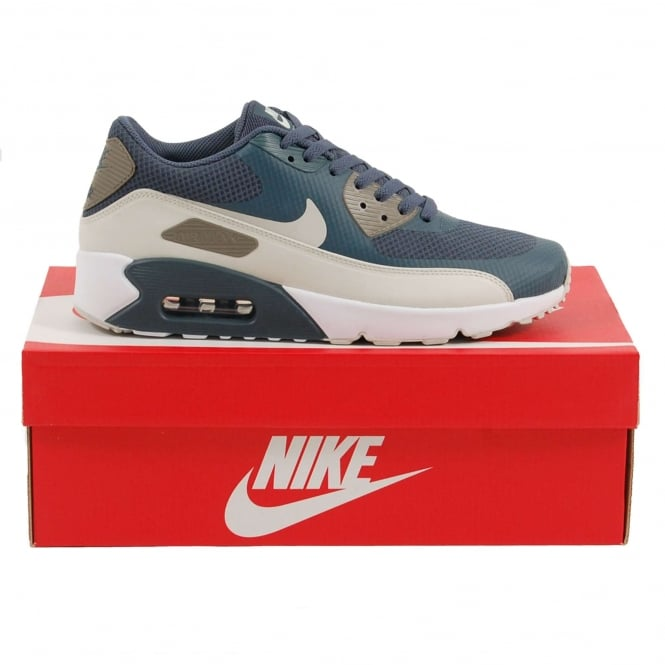 Nike Air Max 90 Ultra 2.0 Essential Blue Fox Light Bone Dark Mushroom White