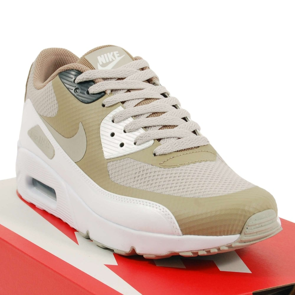 NIKE SHOES MENS AIR MAX 90 ULTRA 2.0 ESSENTIAL WOLF GREY WHITE GREY