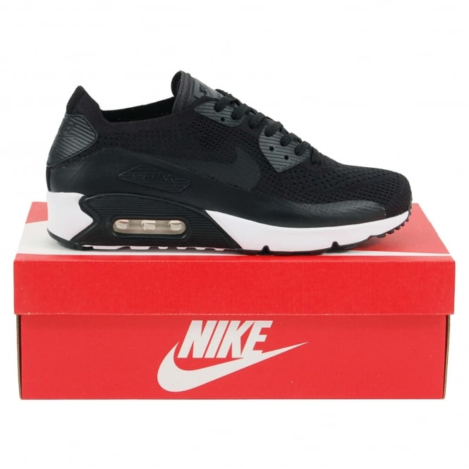 online store 56605 b4f36 Air Max 90 Ultra 2.0 Flyknit Black White
