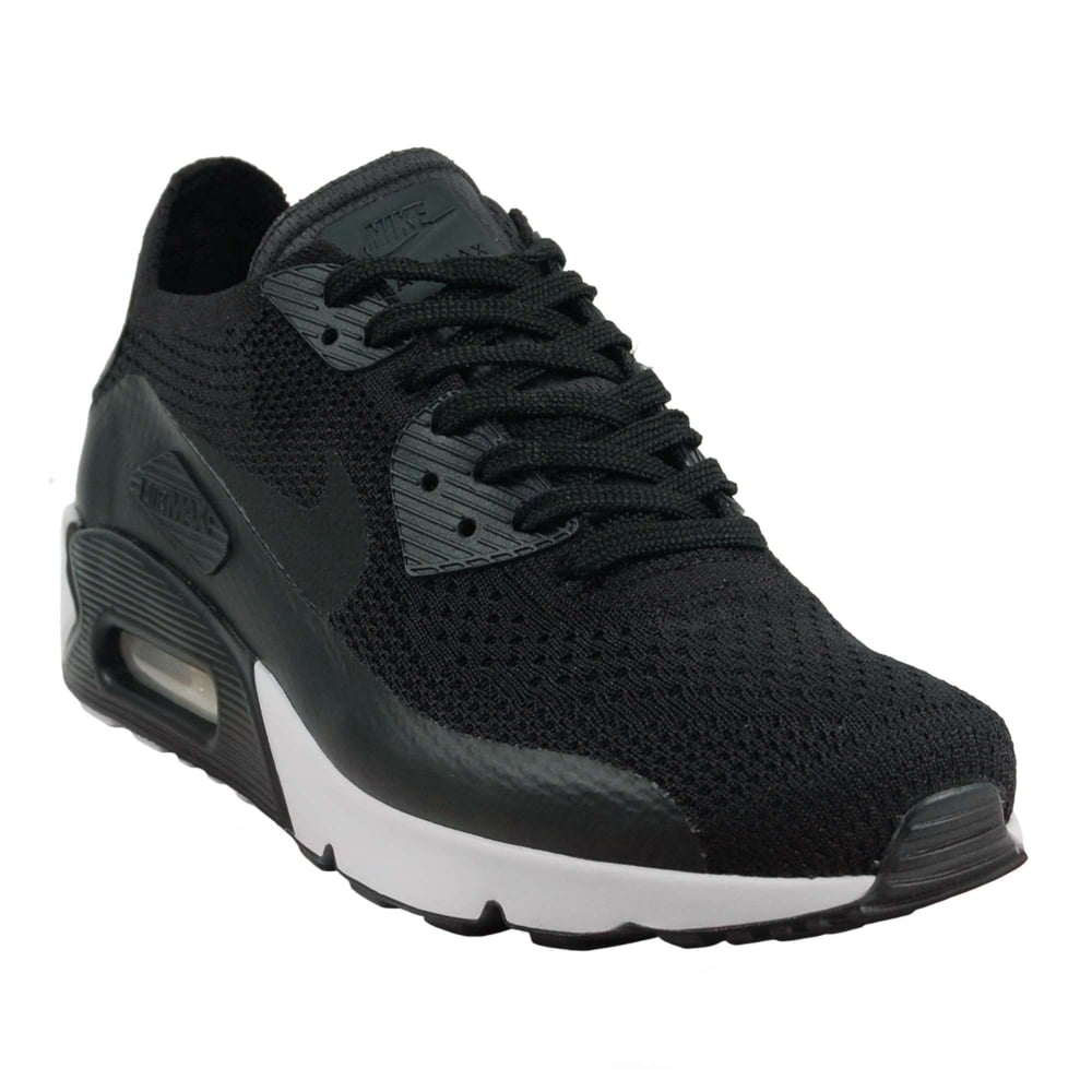 Nike Air Max 90 Ultra 2.0 Flyknit Black White - Mens Clothing from ... ba03c6430d