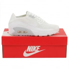 Air Max 90 Ultra 2.0 Flyknit White Pure Platinum