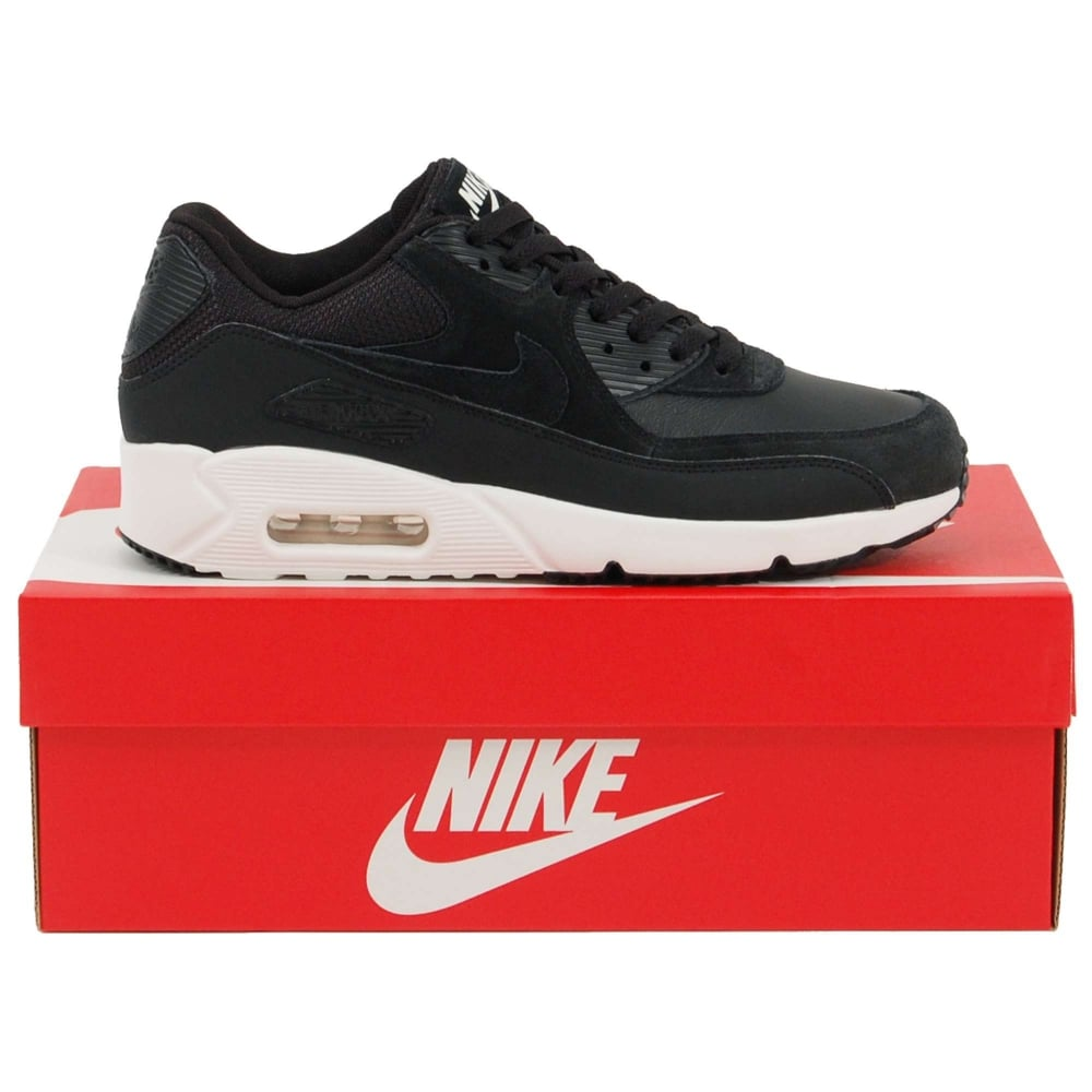 sports shoes 8af66 4797a Nike Air Max 90 Ultra 2.0 Leather Black Summit White Black