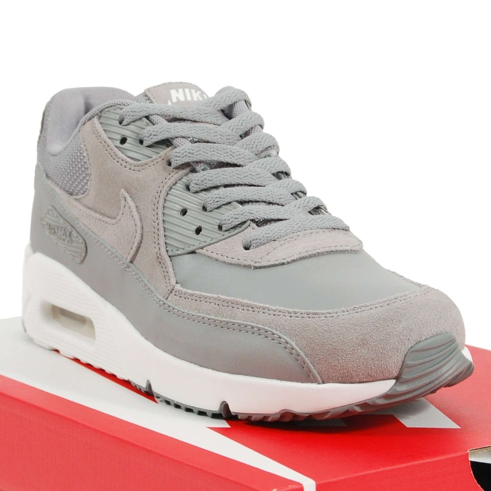 the best attitude 94443 afcd2 Air Max 90 Ultra 2.0 Leather Dust Summit White