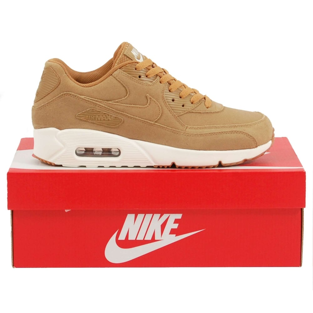 aaece5fe37b Nike Air Max 90 Ultra 2.0 Leather Flax Sail Gum - Mens Clothing from Attic  Clothing UK