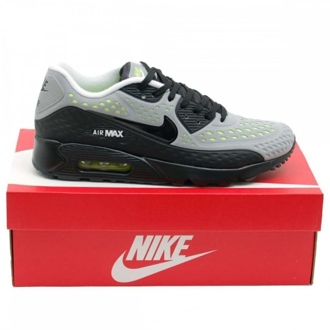 Nike Air Max 90 Ultra Breeze Wolf Grey Black Volt