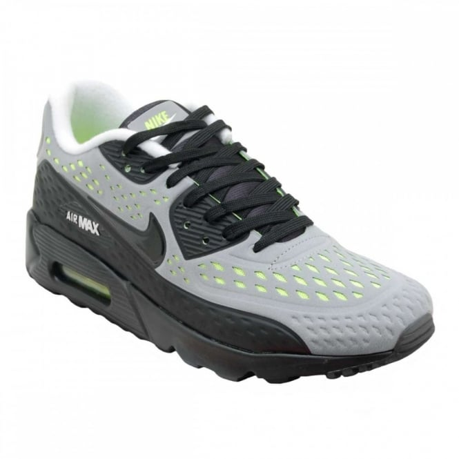 finest selection 93580 f13ab Nike Air Max 90 Ultra Breeze Wolf Grey Black Volt