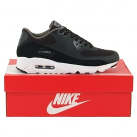 Air Max 90 Ultra Essential Black Dark Grey White