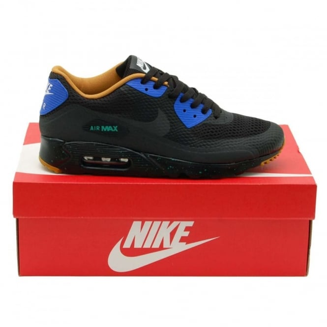 size 40 91042 b474e Nike Air Max 90 Ultra Essential Black Racer Blue