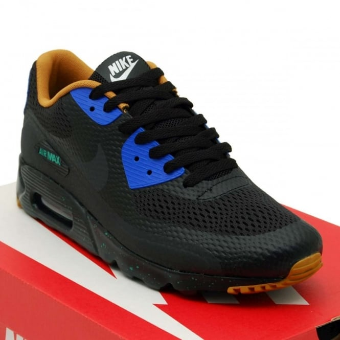 Perenne Pogo stick jump Perla  Air Max 90 Ultra Essential Black Racer Blue - Mens Clothing from Attic  Clothing UK