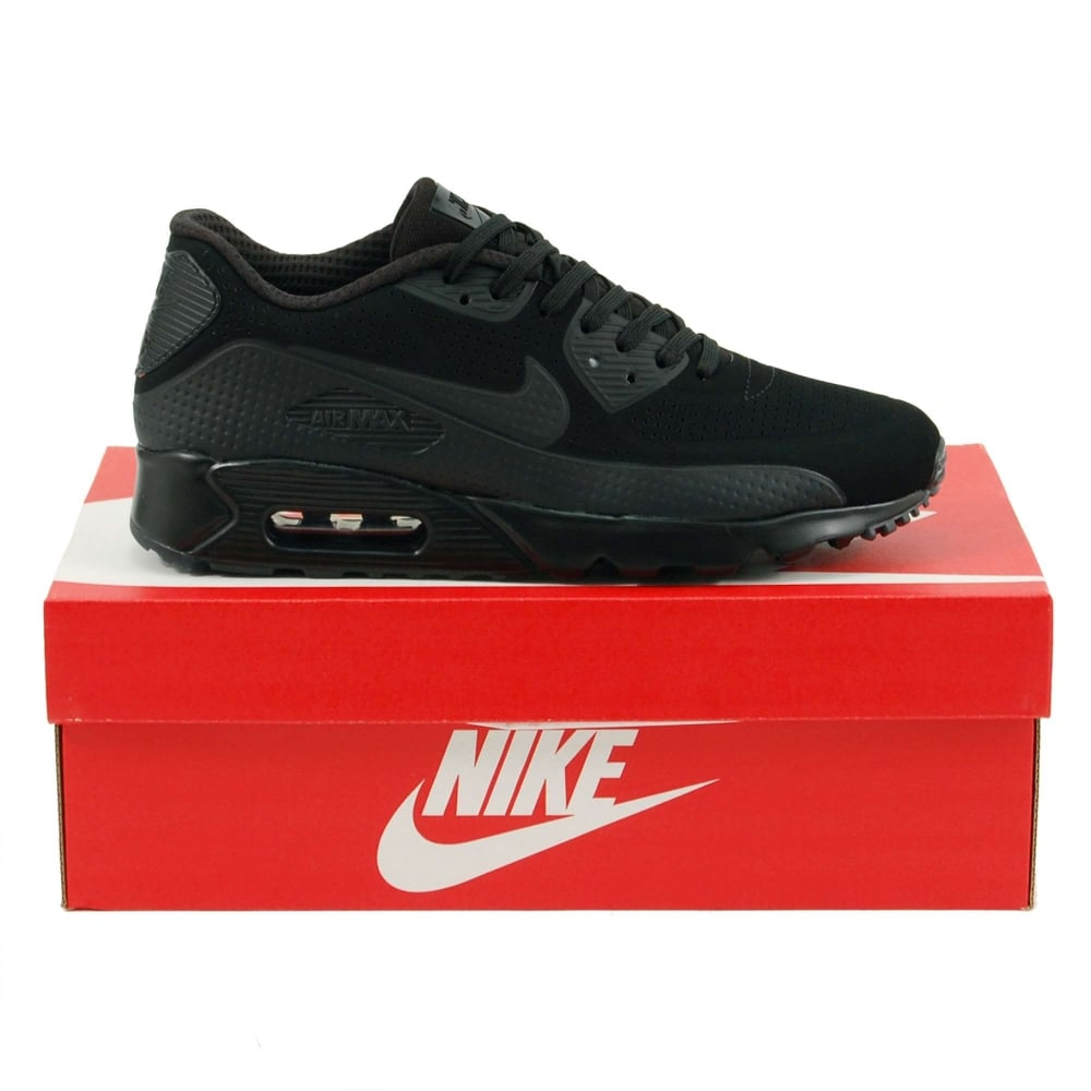b83ee902df Nike Air Max 90 Ultra Moire Triple Black - Mens Clothing from Attic ...