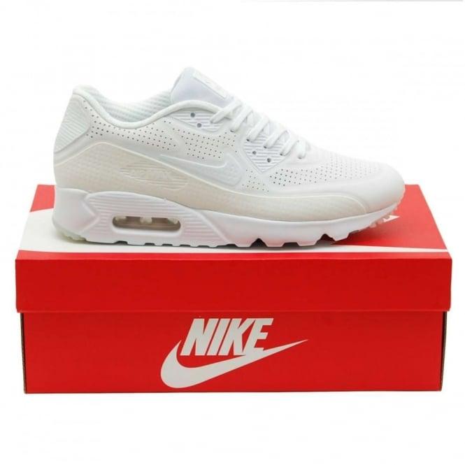 quality design a6684 0e6f7 Nike Air Max 90 Ultra Moire Triple White