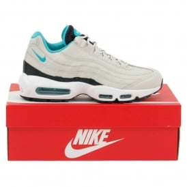 Air Max 95 Essential Light Bone Black White Sport Turquoise