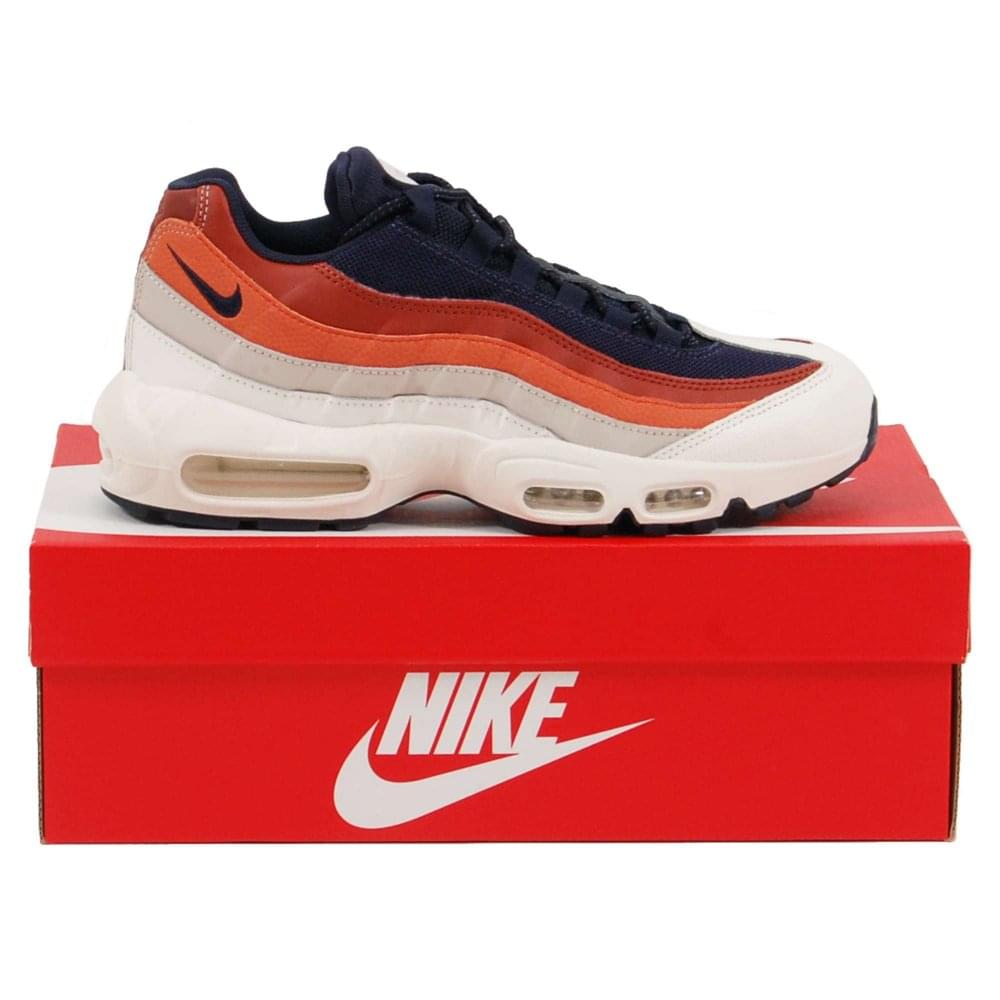 new arrival 33c35 45940 Nike Air Max 95 Essential Sail Obsidian Desert Sand Vintage Coral