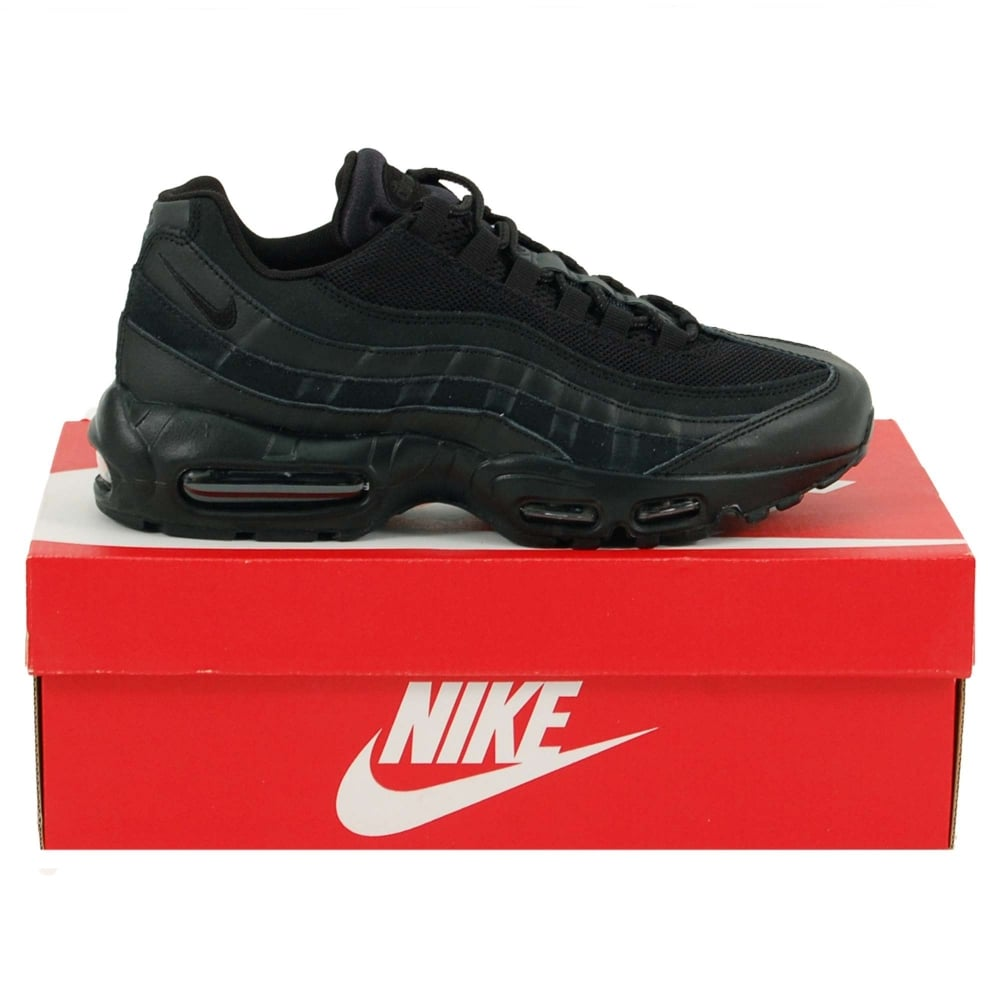 brand new cb6a6 bdae3 Air Max 95 Essential Triple Black