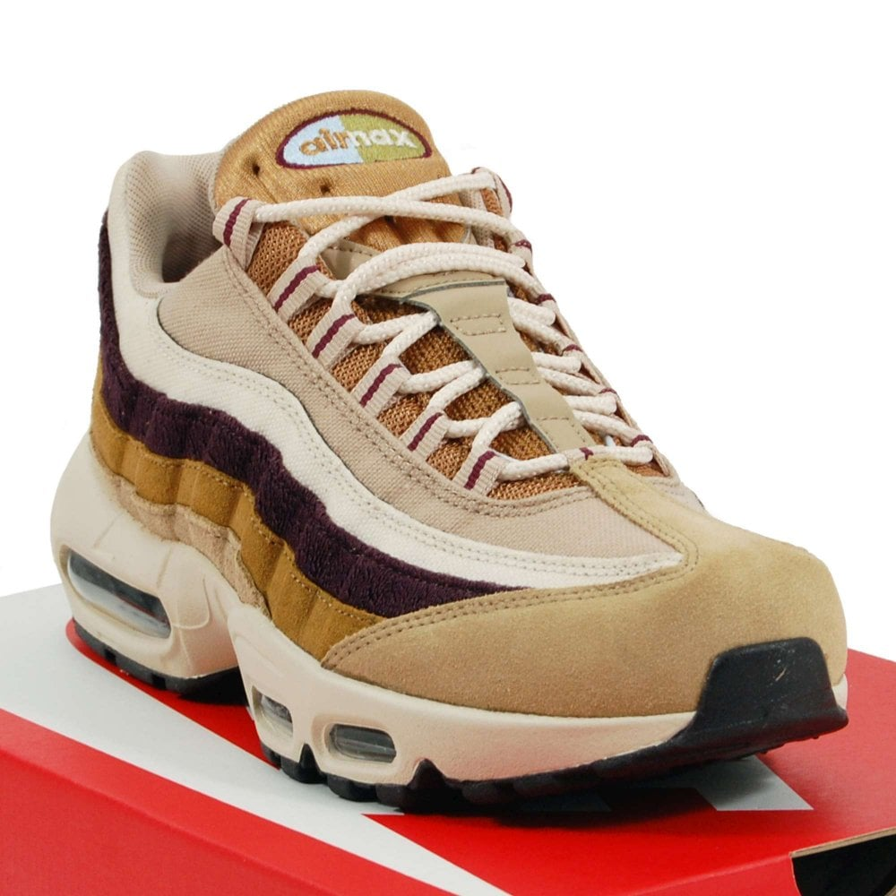 Nike Air Max 95 Premium Desert Royal Tint Camper Green Muted Bronze