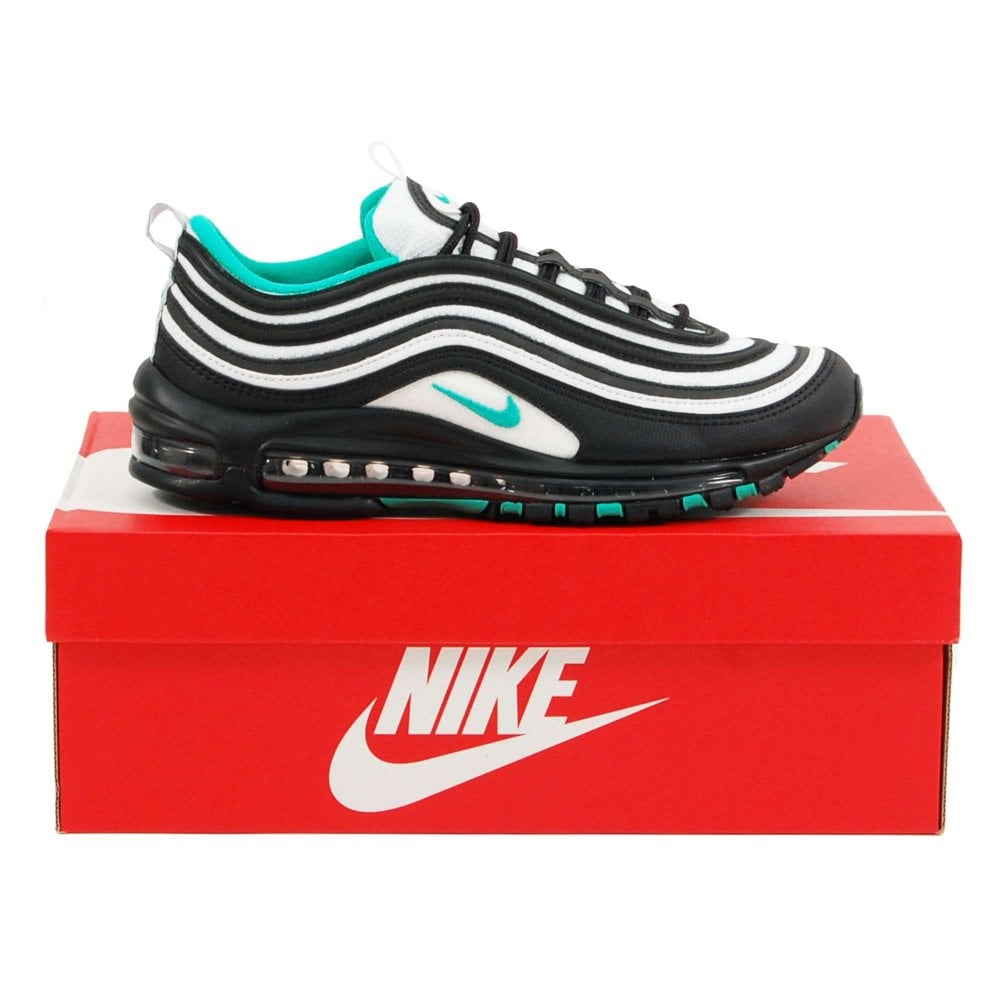 0150d1a79a Nike Air Max 97 Black Clear Emerald White - Mens Clothing from Attic ...