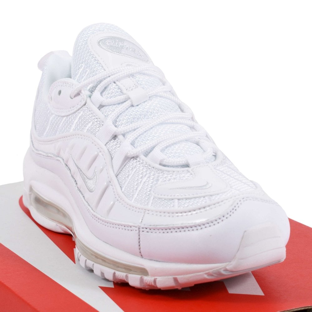 separation shoes 01fe7 14af6 Nike Air Max 98 White Pure Platinum