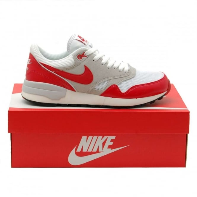 5ea85fb077c Nike Air Odyssey White University Red Neutral Grey - Mens Clothing ...