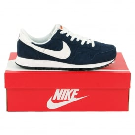 Air Pegasus 83 Leather Dark Obsidian Summit White