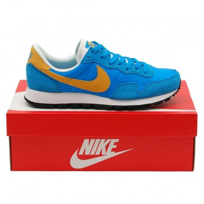 Nike Air Pegasus 83 Photo Blue Gold Leaf - Mens Clothing from Attic ... b8b2c6a7e