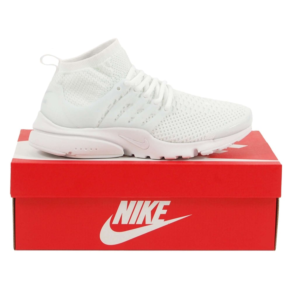 cbbea933cdf6d Nike Air Presto Flyknit Ultra Triple White - Mens Clothing from ...