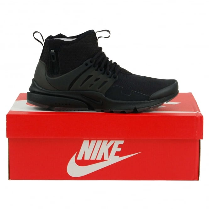 Nike Air Presto Mid Utility Black Dark Grey