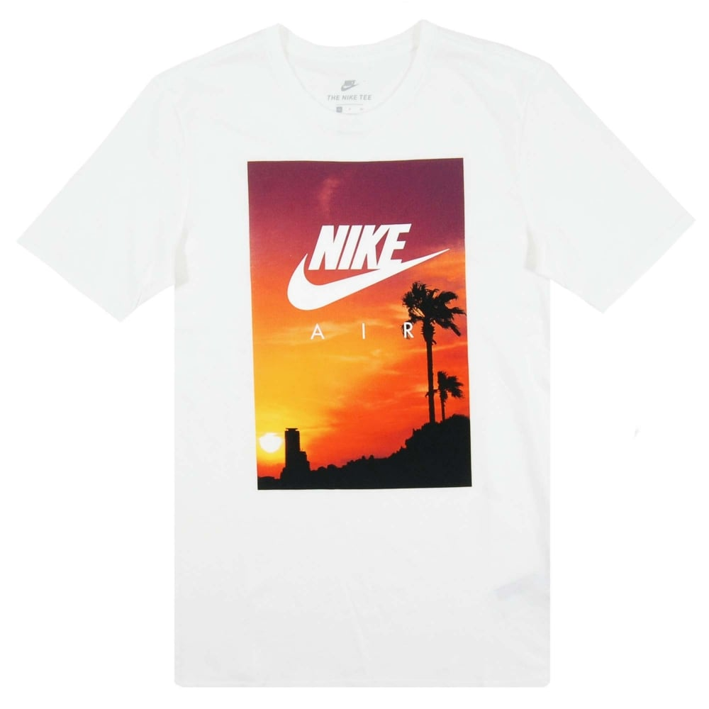 6c0e0a97 Nike Air Sunset T-Shirt White - Mens Clothing from Attic Clothing UK