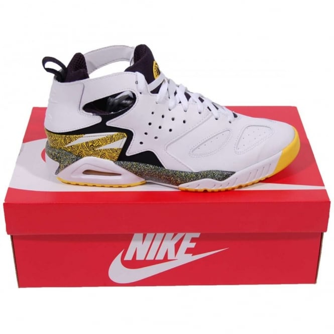 47e91e83f61d Nike Air Tech Challenge Huarache White Tour Yellow - Mens Clothing ...