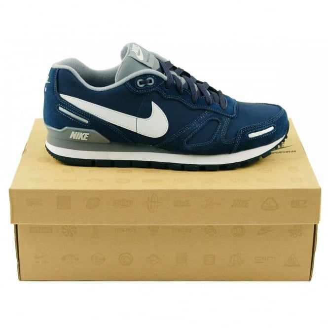 nike air waffle trainer navy white mens clothing from attic clothing uk. Black Bedroom Furniture Sets. Home Design Ideas