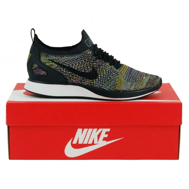Nike Air Zoom Mariah Flyknit Racer Black Vivid Purple Bright Citron