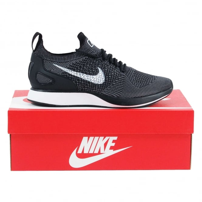 Nike Air Zoom Mariah Flyknit Racer Black White Dark Grey - Mens Clothing from Attic Clothing UK