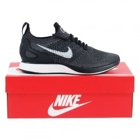 Air Zoom Mariah Flyknit Racer Black White Dark Grey
