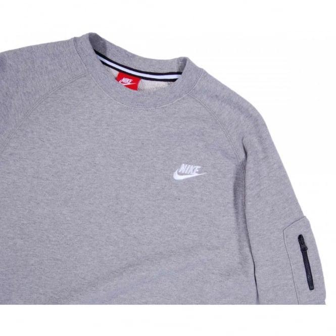 catch order online sale retailer Nike AW77 Crew Sweatshirt Dark Grey Heather