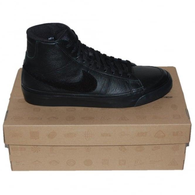 big sale 9ab76 6648f Nike Blazer Mid 09 Premium Black - Mens Clothing from Attic Clothing UK